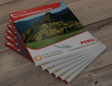 Boletín Internacionalízate UNICATÓLICA