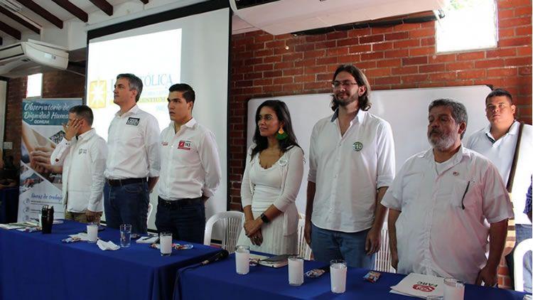 Candidatos a Cámara de Representantes en Foro UNICATÓLICA