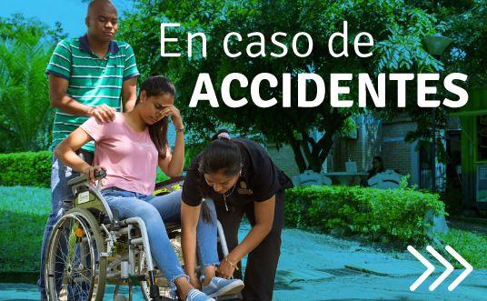 En caso de Accidentes UNICATÓLICA