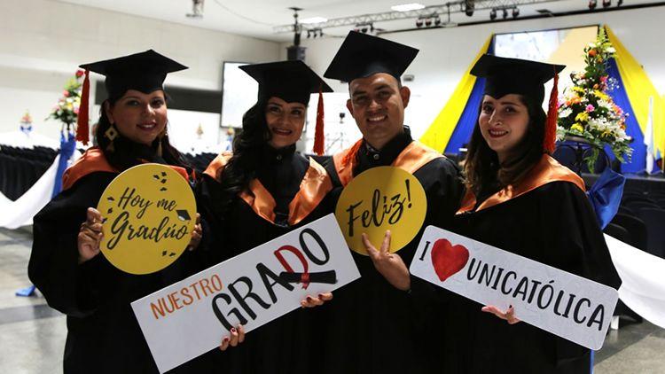 Ceremonia de Grados de UNICATÓLICA 2017-2