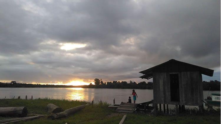 Comunidades wounaan del Bajo San Juan