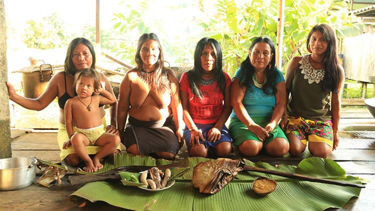 Comunidad wounaan: Territorios de Paz