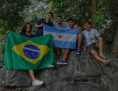 Estudiantes Internacionales en UNICATÓLICA