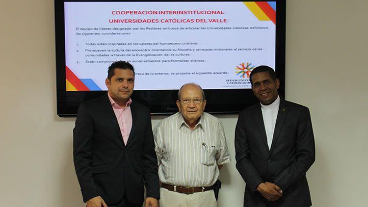 Firma Convenios Red Universidades Católica