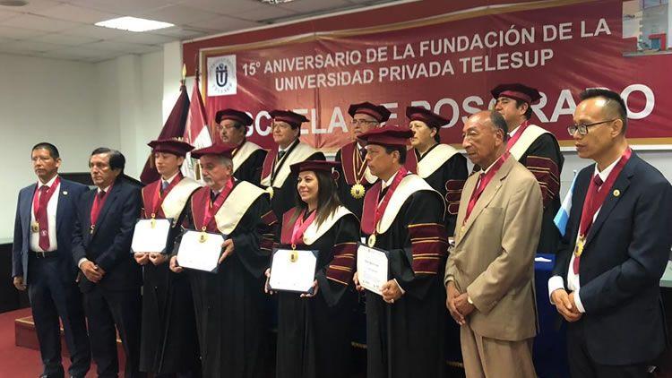 Grado Honoris Causa Wilson López Aragón