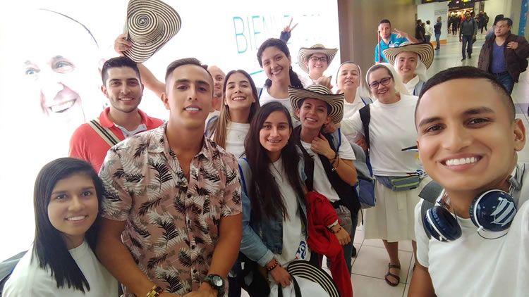Estudiantes UNICATÓLICA en Jornada Mundial de la Juventud