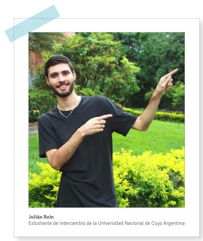 Julian Ruín en Intercambio Estudiantil