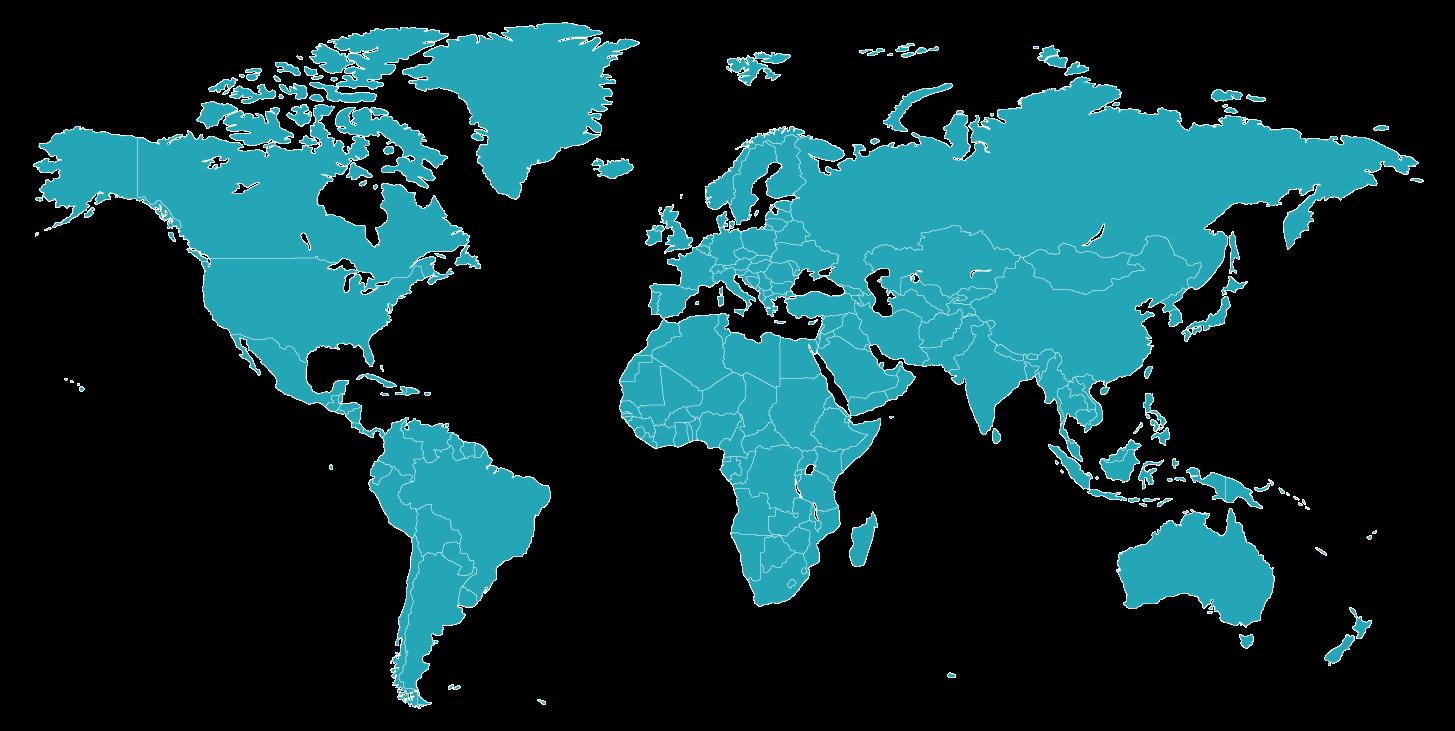 Mapa Convenios Relaciones UNICATÓLICA
