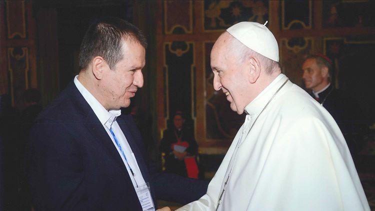 Misión Académica Roma - Visita Papa Francisco