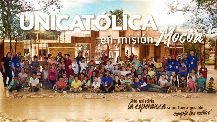 UNICATÓLICA en Misión Mocoa