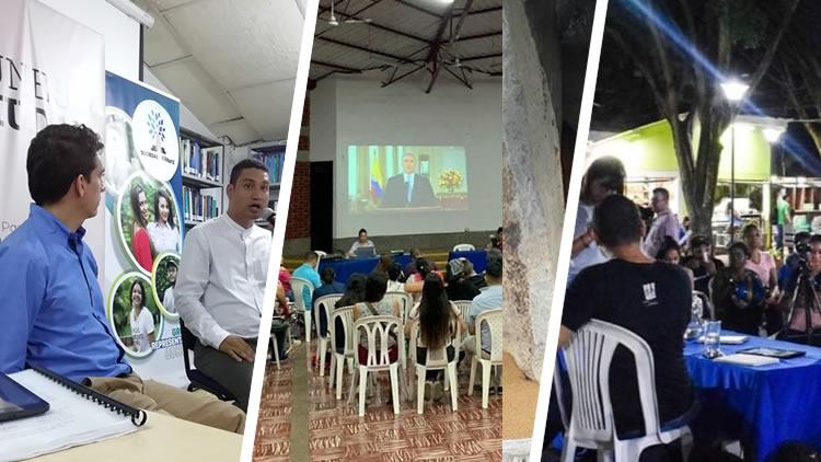 Movilización por tranformación social en UNICATÓLICA