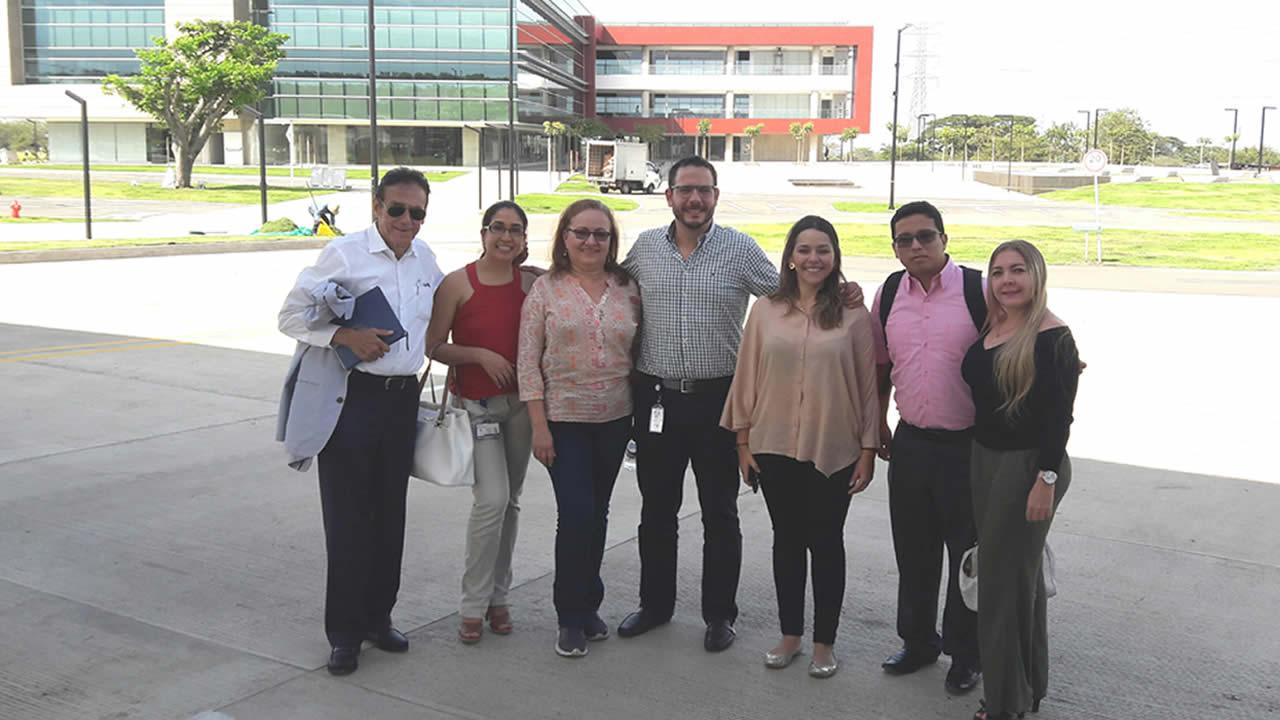 Visita Zonamerica Egresados UNICATÓLICA
