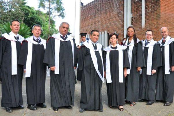 Ceremonia Grados UNICATÓLICA 2011-1