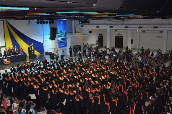 Ceremonia Grados UNICATÓLICA 2014-2