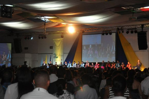 Ceremonia Grados UNICATÓLICA 2016-1