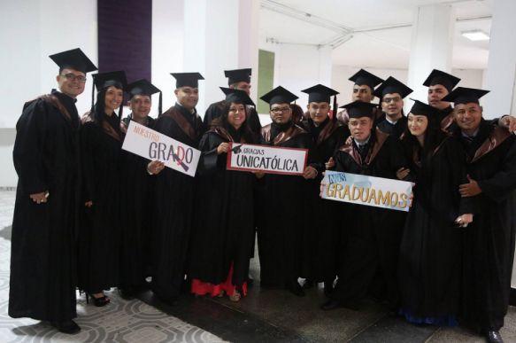 Ceremonia Grados UNICATÓLICA 2016-2