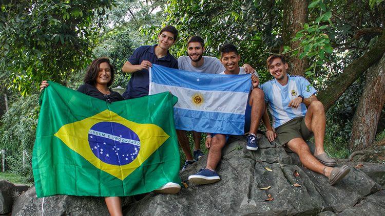 Estudiantes de Intercambio en UNICATÓLICA 2019-1